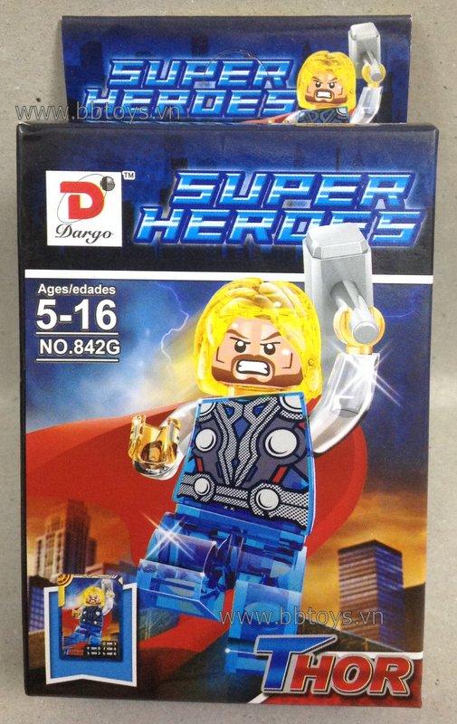 Bộ xếp hình Logo Thor No.842G