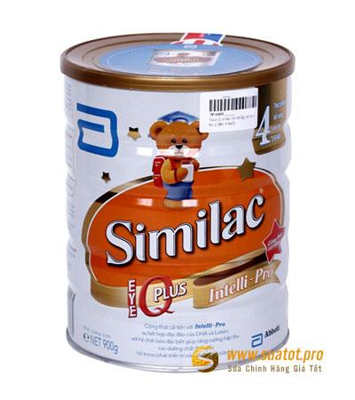 Sữa bột Similac IQ Plus số 4 900g