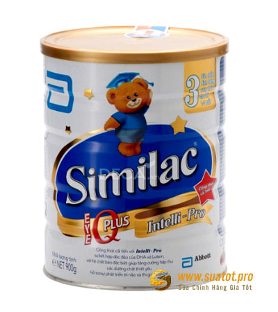 Sữa bột Similac IQ Plus số 3 900g