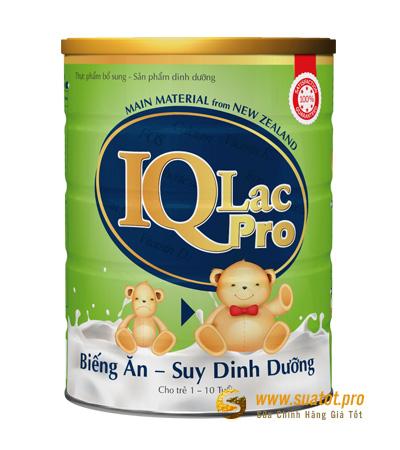 Sữa IQLac Pro 900g (1-10tuổi)