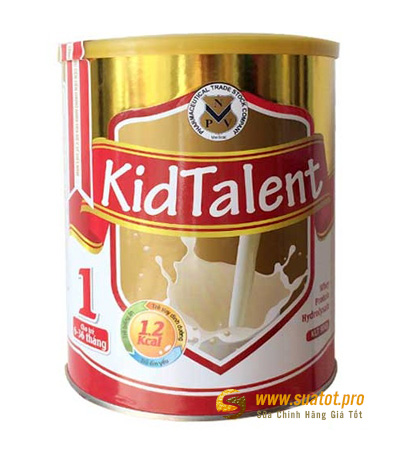 Sữa KidTalent số 1 900g