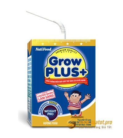 Sữa Nuti Grow Plus xanh 110ml