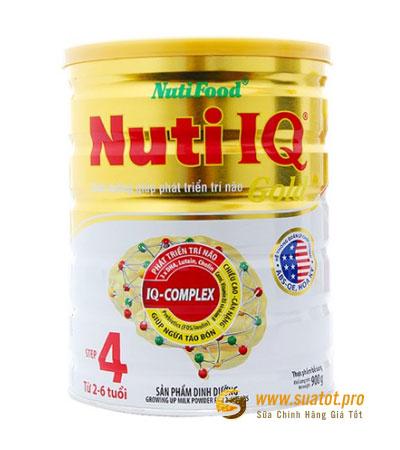 Sữa Nuti IQ Gold Step 4 900g