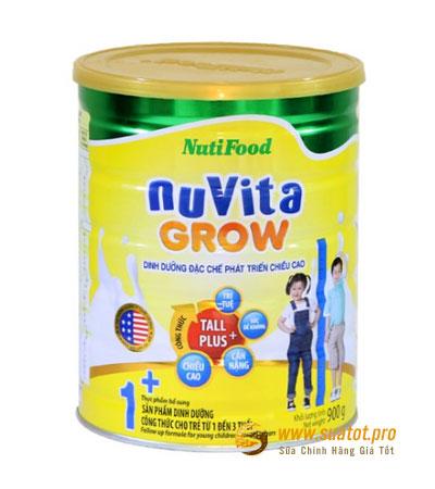 Sữa Nuvita grow 1+ 900g