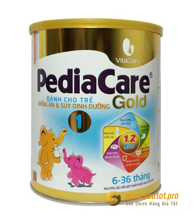 Sữa PediaCare Gold 1 900g