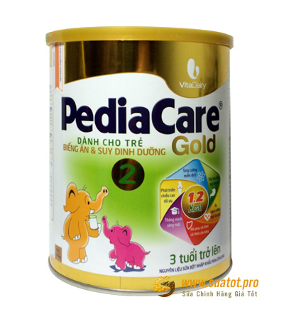 Sữa PediaCare Gold 2 900g